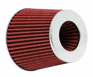 K N 3 To 4 Round Tapered Universal Air Intake Cone Filter Chrome Rg 1001rd