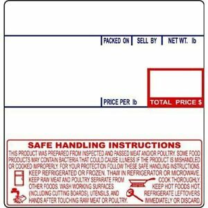 Cas Lst 8040 Printing Scale Label 24rolls Of 500labels