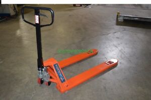 Low Profile Pallet Jack 5 500 Lb Capacity 27 X 48