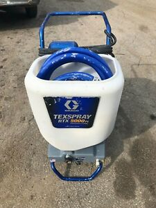 Slightly Used Graco Rtx Texspray 5000pi Professional Drywall Texture Sprayer