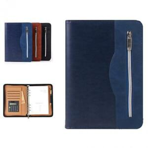 Father s Day Gift sayeec A5 Executive Conference Folder Travel Portfolio
