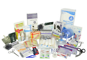 Lightning X Stocked Ems emt Trauma Bleeding First Aid Responder Kit Lxsmk m