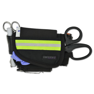 Lightning X First Responder Stocked First Aid Hip belt Pouch Kit For Quick Respo