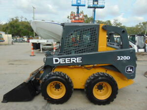 2011 John Deere 320d Turbo high Flow Enclosed A c Cab Pilot Controls