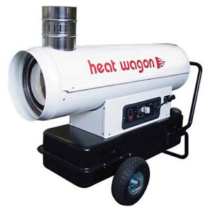 Heat Wagon Oil Indirect Fired Heater 110k Btu Ductable Lot Of 1