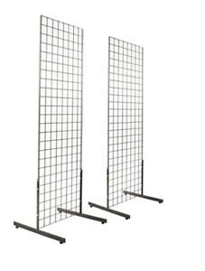 2 x6 Gridwall Panel Towers With T base