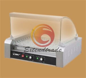 Commercial 11 Roller Hot Dog Grill Cooker Machine 220v 2 2 Kw