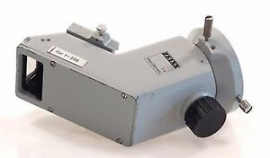 Zeiss Surgical Operating Microscope 0 Zero Degree Co Observation Tube F 200 T