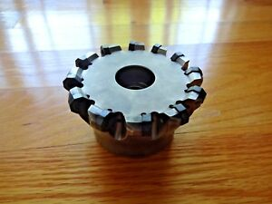 Ingersoll 4 Face Mill On5h 40r01 Octo plus Milling Cutter 1 5 Arbor Size