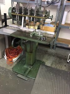 Nygren Dahly Hd 5spindle Paper Drill Proven Work Horse Drill 5 Holes Fast