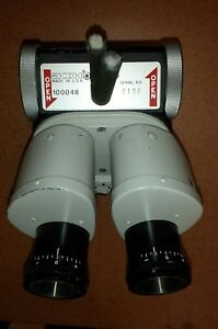 Weck Jkh 100048 Binocular And Splitter For Operating Microscope