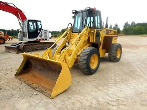 1991 Case W11b Loader With Only 1354 Hours