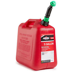 5 Gallon Gas Can Auto Shut off Jug Portable Fuel Container Gas Can 85053