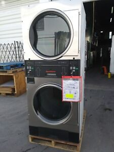 Speed Queen 30lb Stack Dryers stainless Steel Stt30n