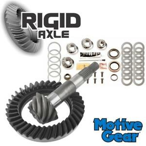 Ford Front Dana 35 Motive 3 55 Ring And Pinion Gear Set W Master Bearing Kit
