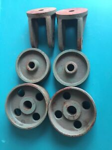 Kr Wilson Engine Stand No 744 Replacement Wheels Castors Ford Flathead Model A