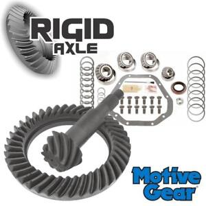 82 Up Ford Dodge Chevy Dana 70hd Motive 4 10 Ring Pinion Gear Set W Bearing Kit