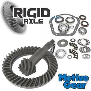 Early Ford Dodge Chevy Dana 70 Motive 4 56 Ring Pinion Gear Set W Bearing Kit