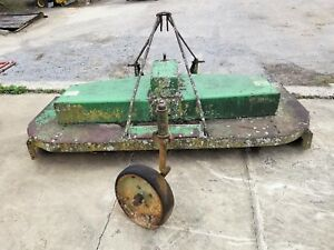 John Deere 7 507 Gyramor Rotary Cutter Ie Brush Bush Hog Mower Foot 84 Feet