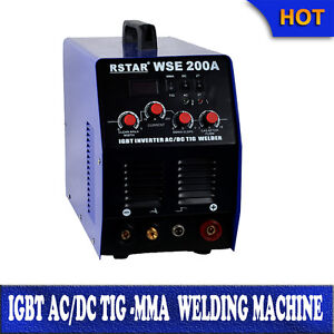 Igbt Welding Machine Ac dc Tig Mma 200a Welding Aluminum Stainless Steel iron
