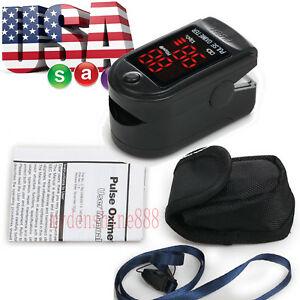 Accurate Led Display Fingertip Pulse Oximeter Spo2 Pr Monitor Saturimetro Gift