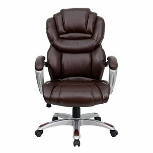 Office Depot Chair Big And Tall Executive Heavy Duty High Back Ergonomic Leather