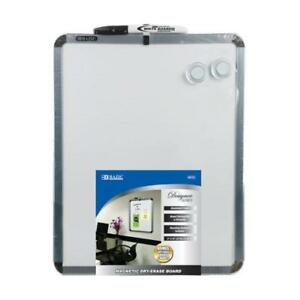Bazic 11 X 14 Magnetic Dry Erase Board W Marker 2 Magnets Case Pack 12