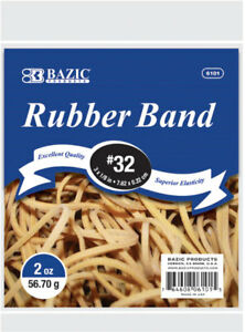 Bazic 2 Oz 56 70g 32 Rubber Bands Case Pack 36