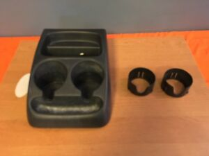 Used Oem Rough 98 04 Ford Ranger Black Front Floor Cup Holder Plastic Auto