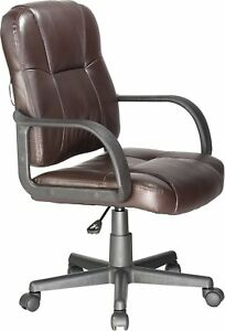 Vibrating Massage Leather Ergonomic Office Executive Computer Desk Task Chair