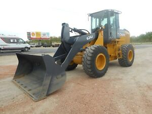 2005 John Deere 624j Wheel Loader With Only 6007 Hours