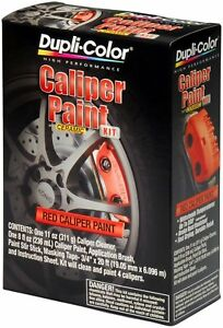 Dupli color Bcp400 Brake Caliper Red Brush Paint Kit