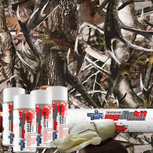Hydro Dipping Transfer Film Hydrographics Designer Dip Kit True Rutt Camo Hc602