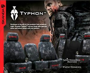Coverking Kryptek Rear Custom Car Seat Cover For Toyota 2013 2015 Tacoma