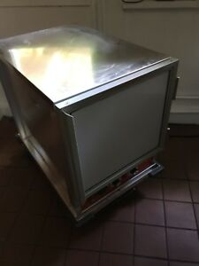 Used Half Size Non insulated Nsf Heated Holding Proofing Cabinet W Clear Door