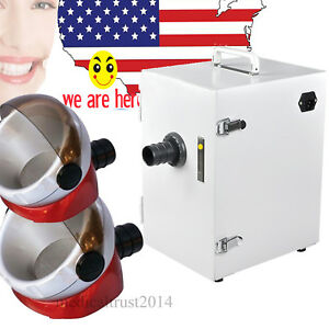 Easy Use Dental Single Row Digital Vacuum Dust Collector Cleaner Gift Hot