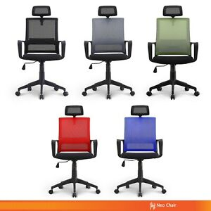 Managerial Home Office Conference Room Chair With Headrest bern h