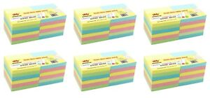 4a Sticky Notes Planner Memo Pad 3 X 3 Pastel Assorted 72 Pads Total 7200 Sheets