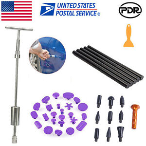 Slide Hammer Puller Hail Removal Paintless Dent Repair Pdr Tools Car Body Kit