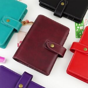 2019 Pu Leather Planner Agenda Binder Colorful Cover 2 5cm Ring A5 A6 Available