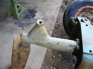 Antique John Deere 1010 Steeing Section Support Tube Farmerjohnsparts