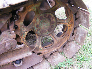 Antique John Deere M 40 Crawler Sprocket 2 Farmerjohnparts