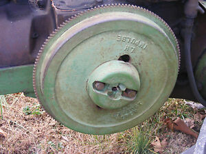 Antique John Deere Tractor H Electric Start Flywheel Farmerjohnsparts