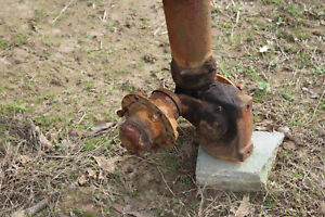 Antique John Deere B Rollamatic Front Axle Farmerjohnsparts