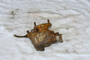 Antique John Deere 1010 Tractor Crawler Carburetor Tsx809 Farmerjohnsparts