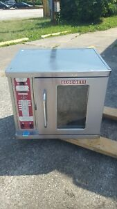 2014 Blodgett Convection Oven Ctbr 1 208 230v Half Size 1 Or 3 Phase