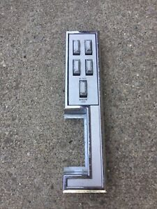 1968 Ford Thunderbird Window Switch 4 Door Front Driver Side