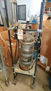 Chemglass 10l Jacketed Reactor With Agitator