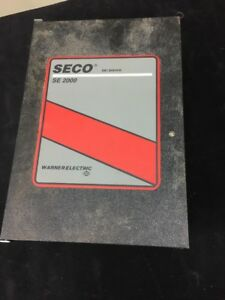 Warner Electric Seco Se2000 Dc Drive 2hp 10a 115 230vac For Parts