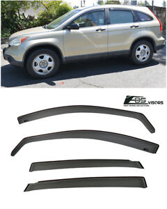 Eos Visor For 07 11 Honda Cr v Side Vents Sun Shade Wind Side Window Deflectors